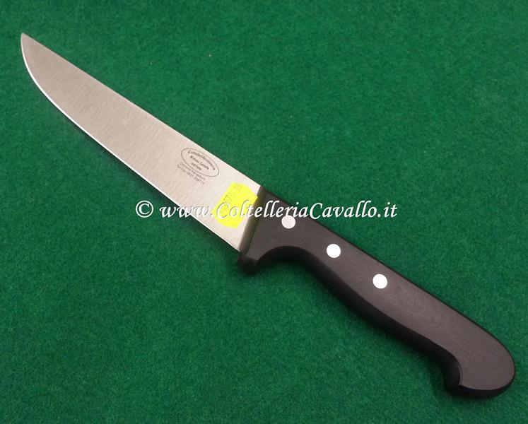 COLTELLO MACELLAIO CM.18 LINEA POM BLACK